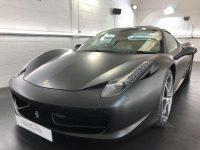 Ferrari Spider Detailing York